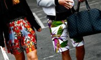 Paris Fashion Week Prints trend shorts