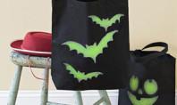 DIY halloween tote bags