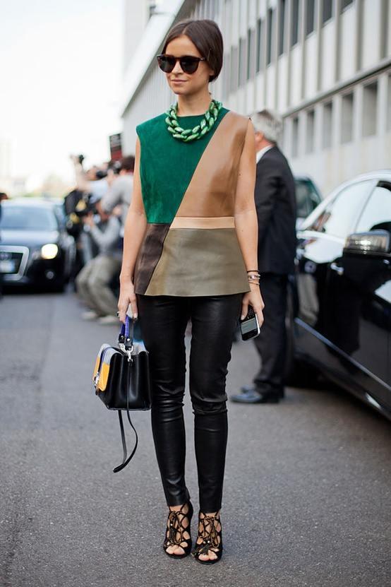 Paris Milan Fashion Week Street Style