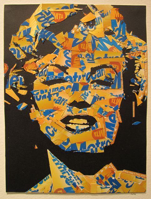 MetroCard Marilyn Monroe