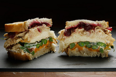 Thanksgiving leftovers recipe for How to make leftover turkey sandwich