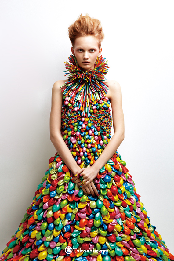 daisy-balloon dress