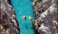 kayaking, italy