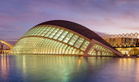 L'Hemisfèric city of arts and sciences spain