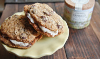 oatmeal cream pies salted caramel buttercream