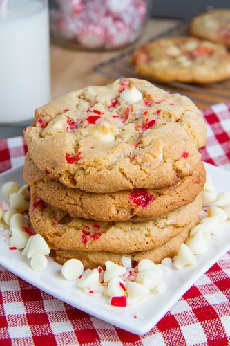 Chocolate Chip Candy Cane CookiesThe Luxury Spot