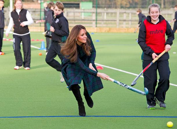 Tartan Kate Middleton