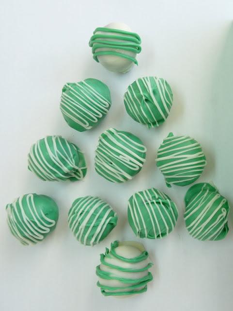 Thin Mint Truffles Christmas Tree
