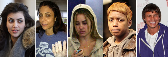 business savvy reality stars without makeup