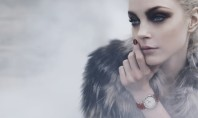 Jessica Stam Winter Makeup