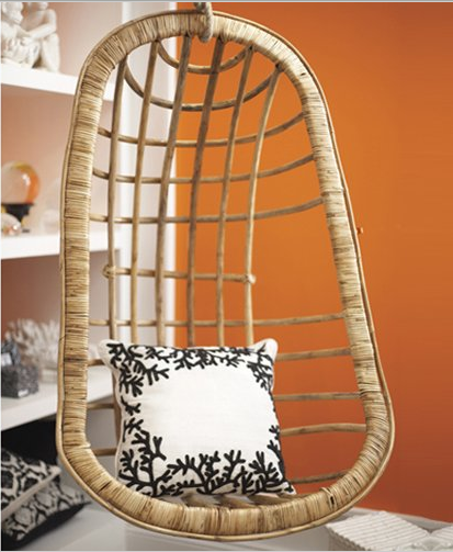 spotting a hanging chair for your living room the luxury spot