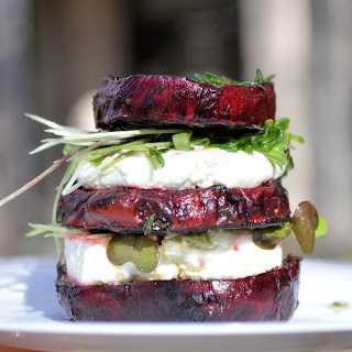 ... goat cheese recipes dishmaps roasted beets with orange and herbed goat