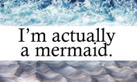 Fashion Eye Candy: I'm Actually a Mermaid