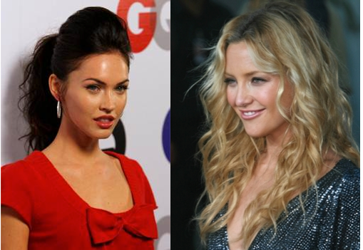 Megan Fox & Kate Hudson's hair