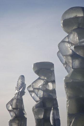 astana ice sculpture