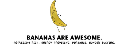 why bananas are awesome