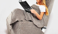 This Stylish Sweater Chair Is Way More Awesome Than The Snuggie