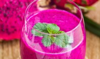 Yum Alert: Dragon Fruit Smoothie