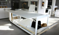 Awesome Spotting: A Desk That Is Also A Bed