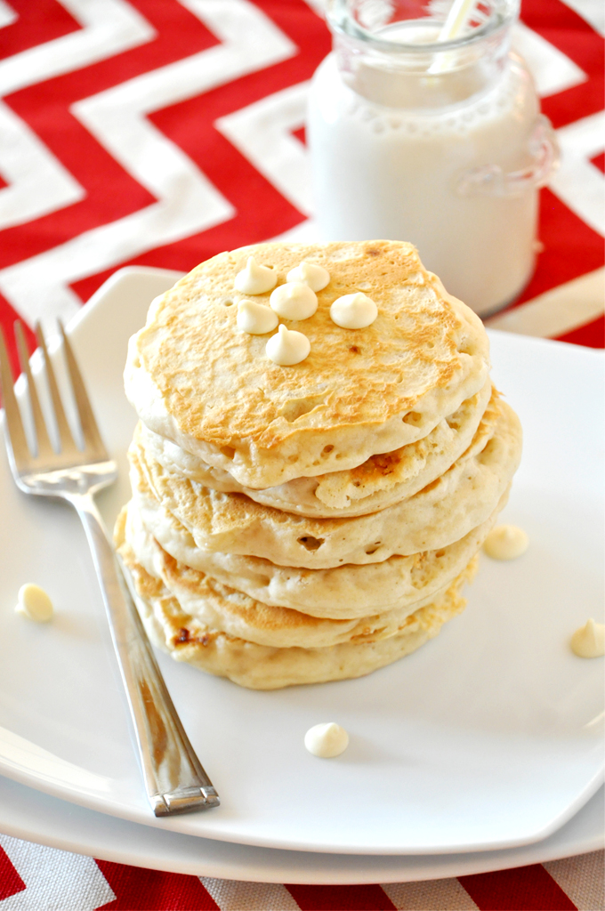 white-chocolate-macadamia-nut pancakes