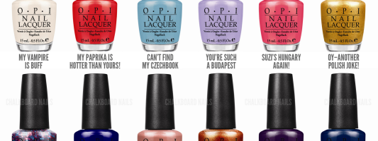 Nail Crave: Spring 2013 Essie and OPI Collections