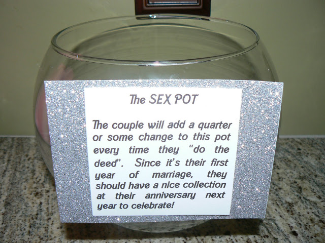 first year of marriage sex pot