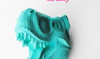 Top Five Dinosaurs on Etsy