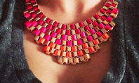 Guess how much this necklace costs. No, really.