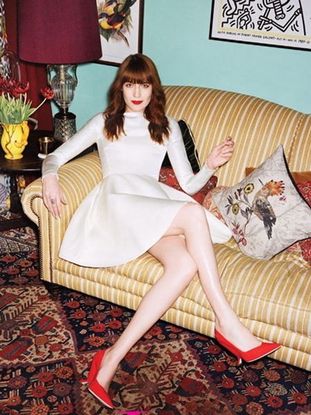 Florence Welch, Vogue, Decor
