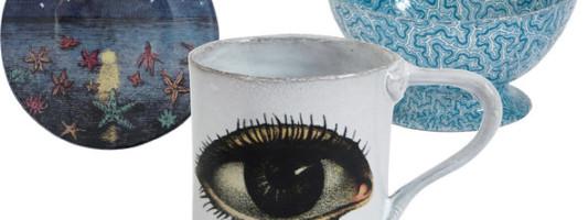 John Derian Ceramics for Astier de Villatte