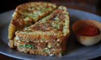 crispy salt & pepper french toast