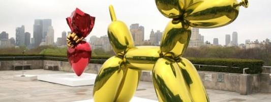 Jeff Koons' Sculptures