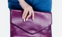 Accessories Spotting:  Leather Portfolio Clutches