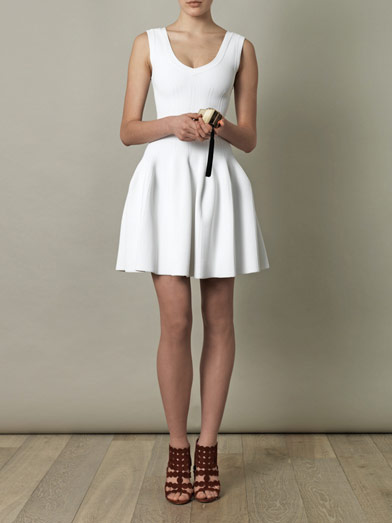 Alaia White Dress Related Posts