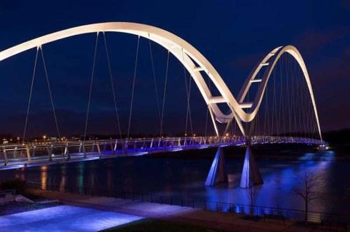 Infinity Bridge, UK