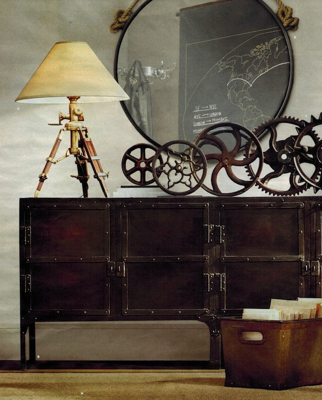steampunk design trend. Black Bedroom Furniture Sets. Home Design Ideas