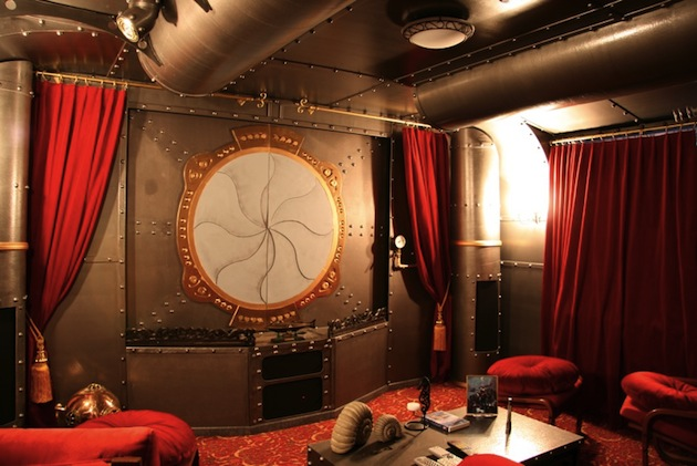 Steampunk interior design the luxury spot Steampunk interior