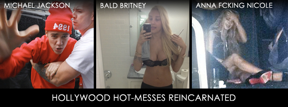 hollywood hot messes reincarnated