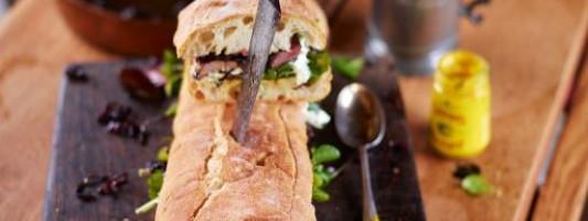 Yum Alert: Flying Steak Sandwich