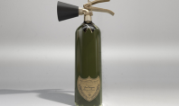 Dom Perignon fire extinguisher