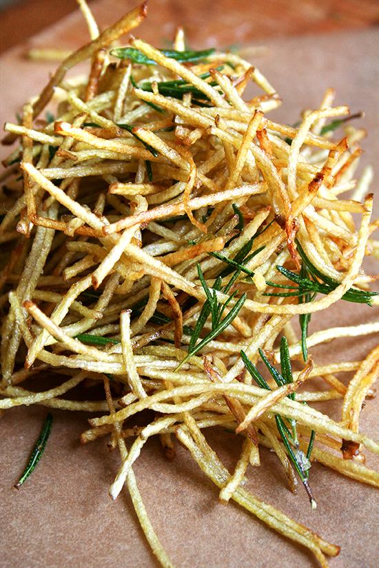 Rosemary Straw Potatoes