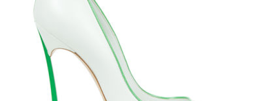 Casadei's Mint Green & White Pump