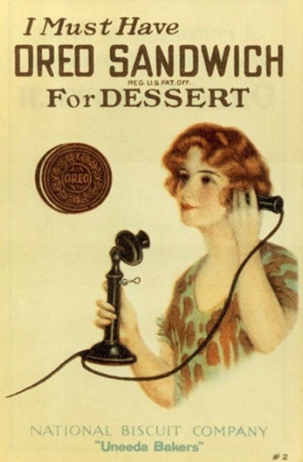 Vintage Oreo ad