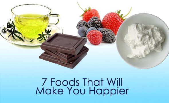 food that will make you happy