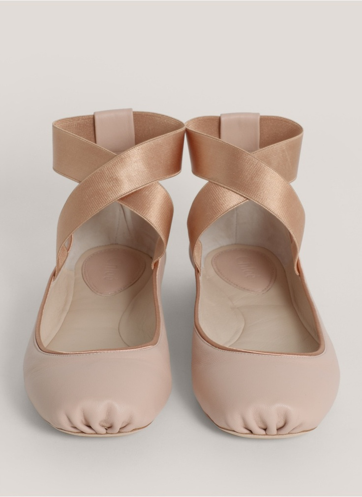 Chloe ballerinas