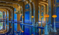 Roman Azure Pool, Hearst Castle