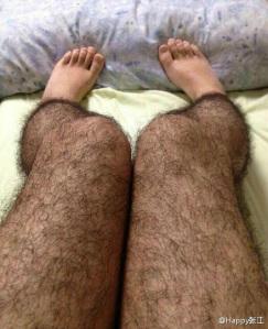 anti pervert hairy leggings china