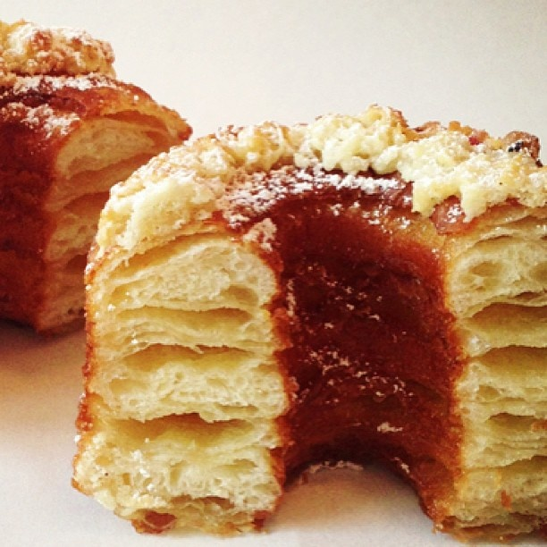 and easy (10-20 minutes top) recipe for Salted Caramel Cronuts