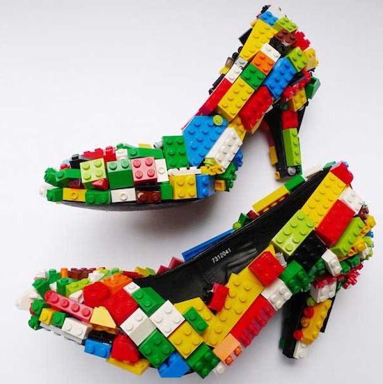 Unconventional Lego sculptures