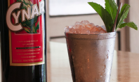 Cynar Julep cocktail